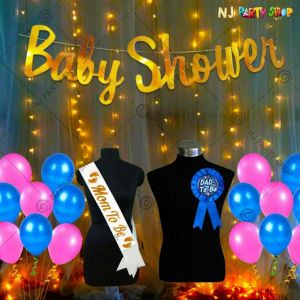 05X - Baby Shower Decoration Combo - Set of 33
