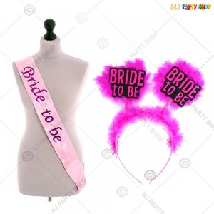 113A - Bride To Be Decoration Combo - Bachelorette Party Decorations