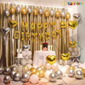 011W - Birthday Party Decoration Combo - Set of