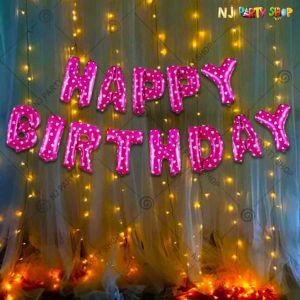 012P - Birthday Party Decoration Combo - Set of