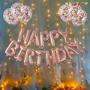 012S - Birthday Party Decoration Combo - Set of