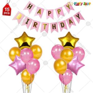 013K - Birthday Party Decoration Combo - Set of