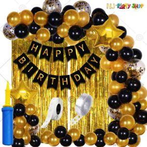 013Q - Birthday Party Decoration Combo - Set of