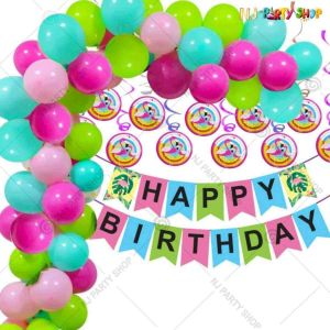 014Q - Birthday Party Decoration Combo - Set of