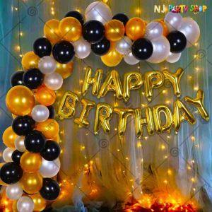 015Q - Birthday Party Decoration Combo - Set of