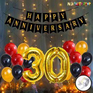 018W - Anniversary Decoration Combo - Set of 51