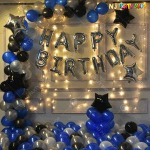 05W - Birthday Party Decoration Combo - Set of