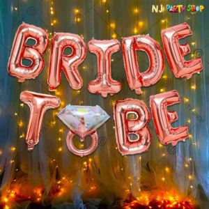 05X - Bride To Be Combo - Bachelorette Party Decorations  - Set of
