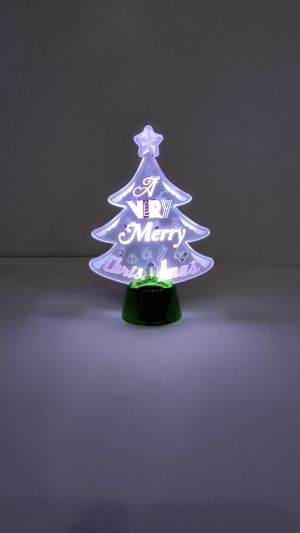 Christmas Decoration Showpiece With lights - Model 1001