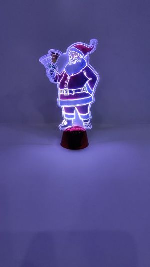 Christmas Decoration Showpiece With lights - Model 1003