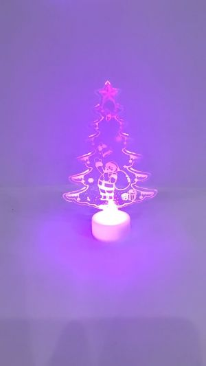 Christmas Decoration Showpiece With lights - Model 1004