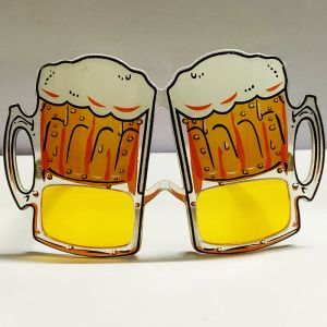 Beer Glass Party Goggle - Yellow