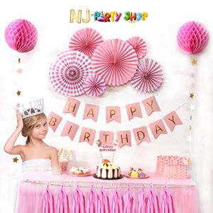 017A Model - Birthday Decoration Combo Kit - Pink
