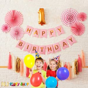 101A Model - Birthday Decoration Combo Kit - Pink