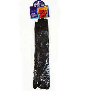 Black Gloves Satin