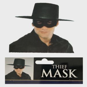 Black Thief/Detective Eye Mask