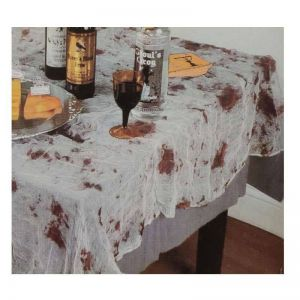 Blood Cloth Table Cover - Halloween Decoration
