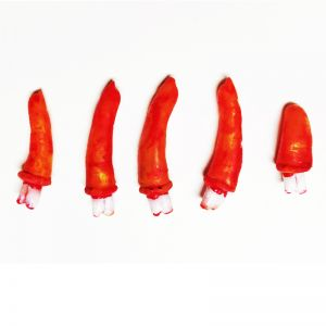 Blood Cut Fingers - Set of 5