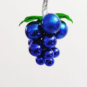 Blue Grapes Hanging Decoration - Small