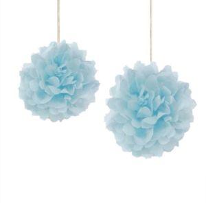 Blue Pom Pom - Set 1