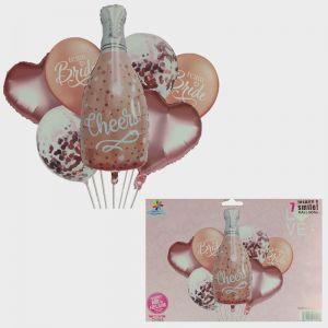 Bride Foil Balloons - Set of 7
