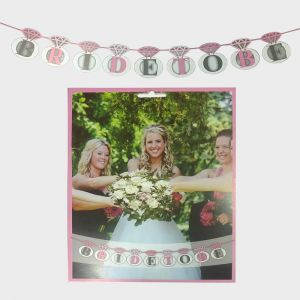 Bride To Be Banner - Model 1005