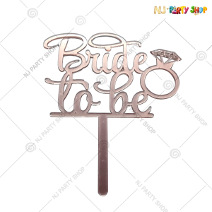 Bride To Be Cake Topper – Model 200R