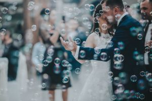 Water Bubble Plastic Stick - Pre Wedding