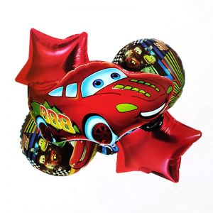 Car 5 Pieces Set Foil Balloon