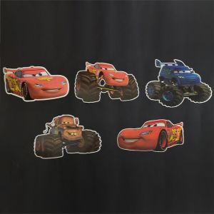 Car Theme Cutouts/Stickers Decoration - Set of 5 - 1FT Height
