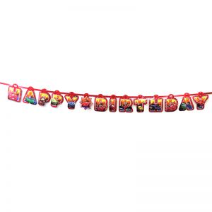 Car Theme Happy Birthday Banner