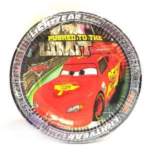 Car Theme Paper Plates - Set of 10