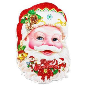 Christmas Big Paper Posture/Sticker - Xmas Decoration - Model 13XY