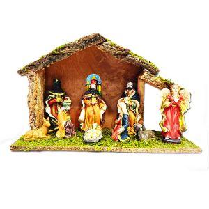 Christmas Crib Set With Statues - Big