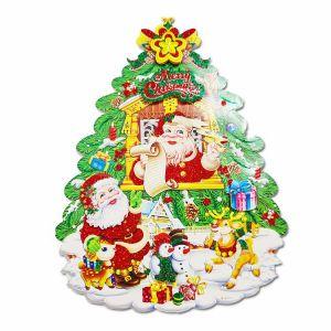 Christmas Paper Posture/Sticker - Xmas Decoration - Model 8XY