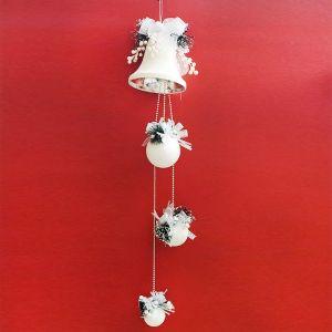 Christmas Snow Ball Hanging Decoration
