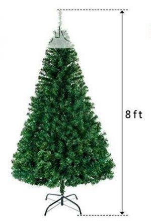 Artificial Christmas Dense Tree Premium Quality - 8 FT