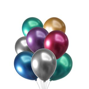 Chrome Balloons - Set of 5