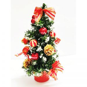 Decorated Artificial Christmas Tree - 1 Feet