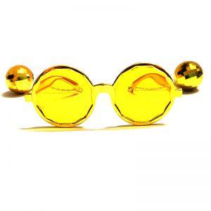 Disco Party Goggle - Golden