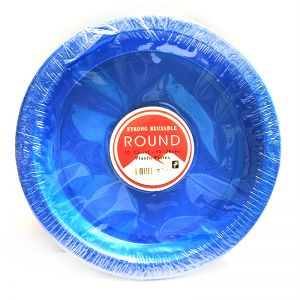Disposables High Quality Blue Plates - Set of 10