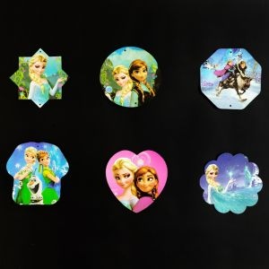 Frozen Hanging Decoration / Stickers - Set of 6