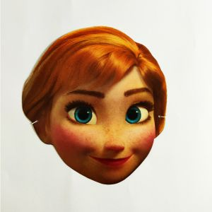 Frozen Theme Full Face Paper Mask - Set of 10