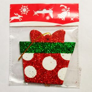 Gift Box Hanging Sunboard Decoration - Small