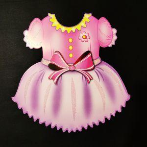 Girl Dress Sticker Decoration