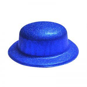 Glitter Party Hats - Blue