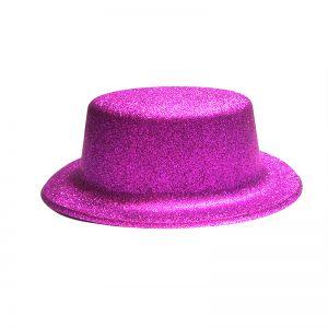 Glitter Party Hats - Purple