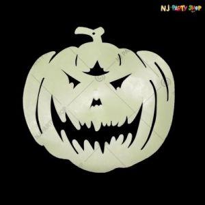 Glow In The Dark Pumpkin - Halloween Decorations