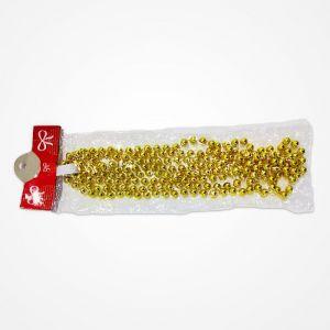 Golden Bead Chain Garland Christmas Tree Decoration Ornaments