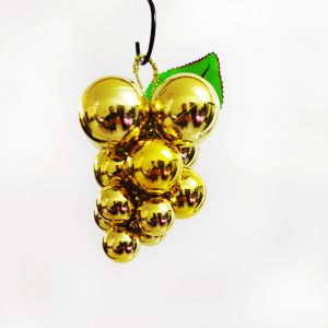 Golden Grapes Hanging Decoration - Small